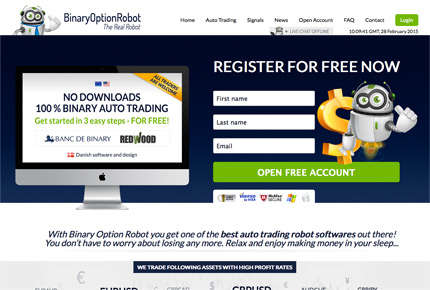 Most profitable binary options robot